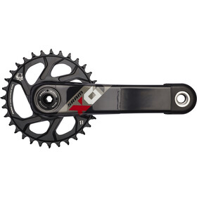 SRAM X.01 Eagle BB30 Guarnitura 32 denti, black/red